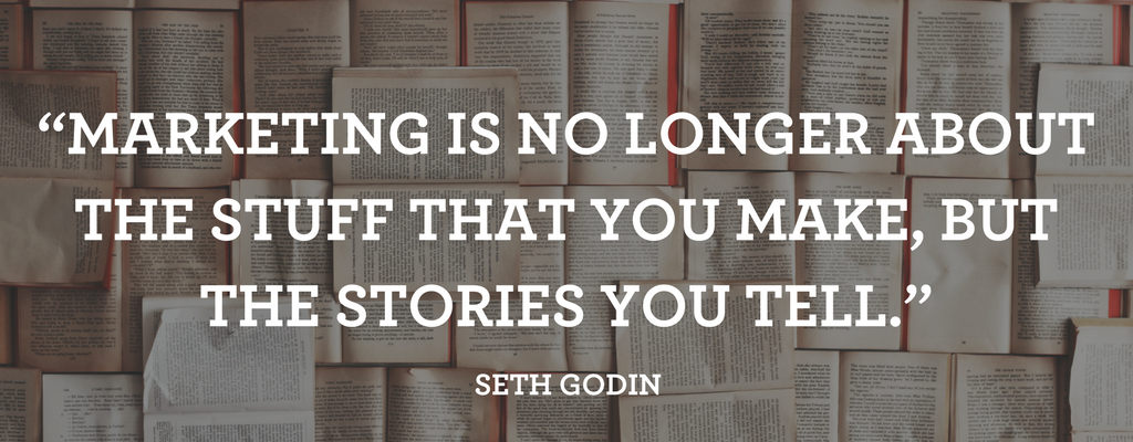 Seth Godin on storytelling in marketing