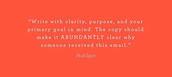 Write emails with clarity - HubSpot