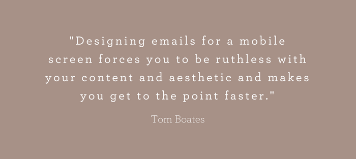 Less is more email marketing