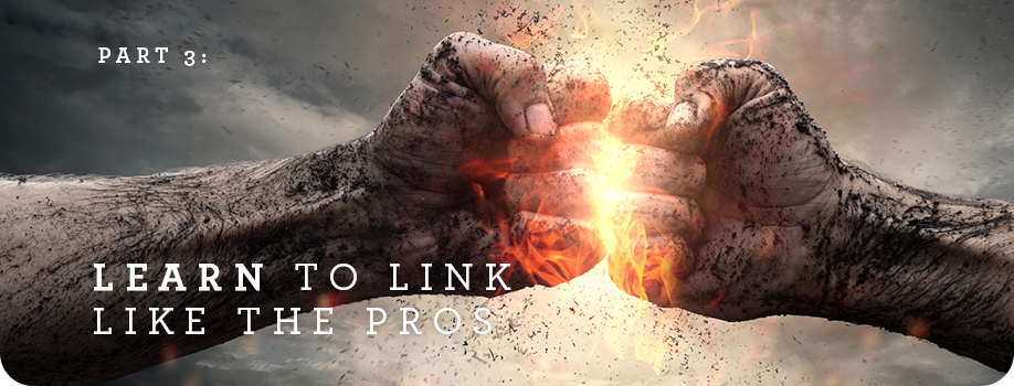 Part 3: Learn to link like the pros